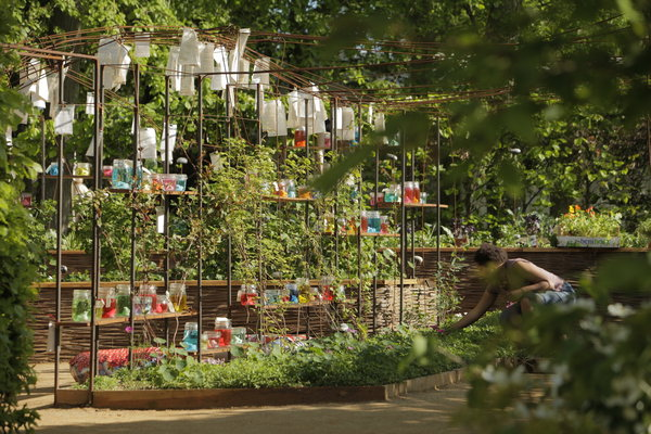 Les coulisses d'un festin, Chaumont sur Loire,2012